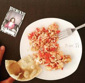 Desayuno casi perfecto.